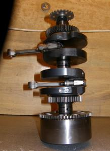 Albero Motore Ribilanciato (Fori di Equilibratura Lato 2)