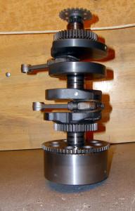 Albero Motore Ribilanciato (Fori di Equilibratura Lato 3)